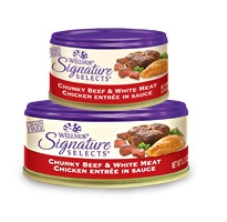 Wellness Signature Selects Chunky Beef & White Meat Chicken Entrée in Sauce