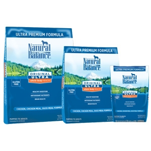 Natural Balance Original Ultra Whole Body Health Chicken Chicken Meal Duck Meal Dry Dog Formula