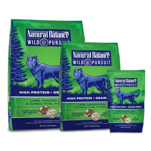Natural Balance Wild Pursuit Lamb Chicken Meal & Guinea Fowl Dry Dog Formula