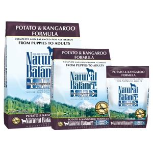 Natural Balance L.I.D. Limited Ingredient Diets Potato & Kangaroo Dry Dog Formula