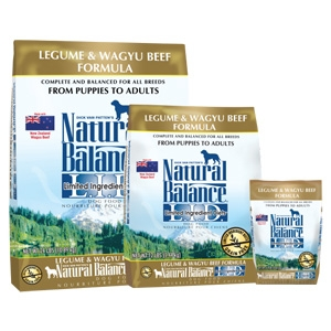 Natural Balance L.I.D. Limited Ingredient Diets Legume & Wagyu Beef Dry Dog Formula