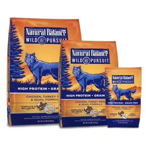 Natural Balance Wild Pursuit Chicken Turkey Meal & Quail Dry Dog Formula