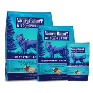 Natural Balance Wild Pursuit Trout Salmon Meal & Tuna Dry Dog Formula