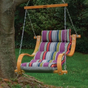 Hatteras Hammocks® Single Swing with Oak Arms