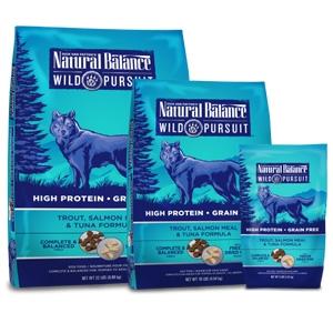 Natural Balance Wild Pursuit Trout Salmon Meal & Tuna Dry Dog Formula