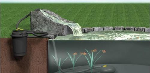 Blue fish aquarium laguna pressure flo 3200 uvc for Filtro per laghetto esterno