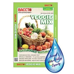 Baccto® Organic Veggie Mix
