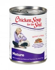 Chicken Soup for Dog Lovers Senior 24/13 oz. Cans