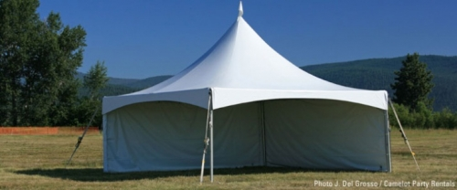 Marquee Tent Sidewalls