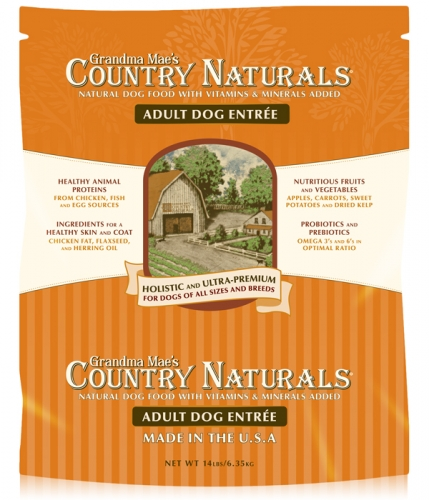 Grandma Mae's Country Naturals Adult Dog Food 28 lbs