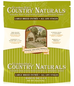 Grandma Mae's Country Naturals Large Breed Dog Food 35 lbs