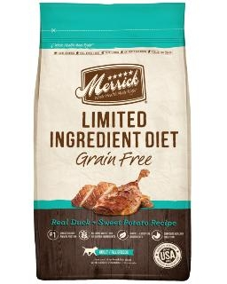 Limited Ingredient Real Duck & Sweet Potato Dog Food