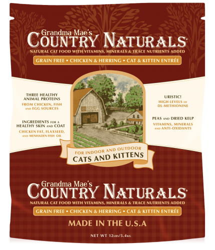 Grandma Mae's Country Naturals Grain Free Cat Food