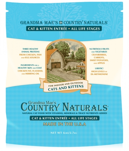 Grandma Mae's Country Naturals Cat/Kitten Food 3 lbs