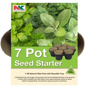 NK Lawn and Garden 7 Pot Seed Starter