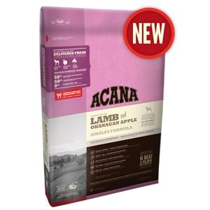 Acana Singles Lamb & Okanagan Apple Dry Dog Food