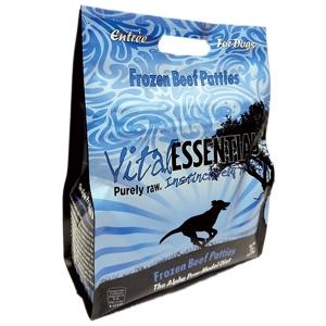 Vital Essentials Raw Beef Formula Patties