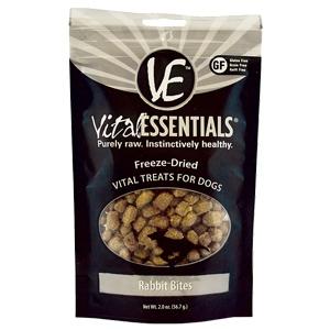 Vital Essentials Raw Rabbit Formula Freeze-Dried Treats
