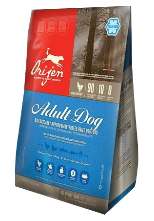 ORIJEN Adult Dog Freeze Fried Dog Food