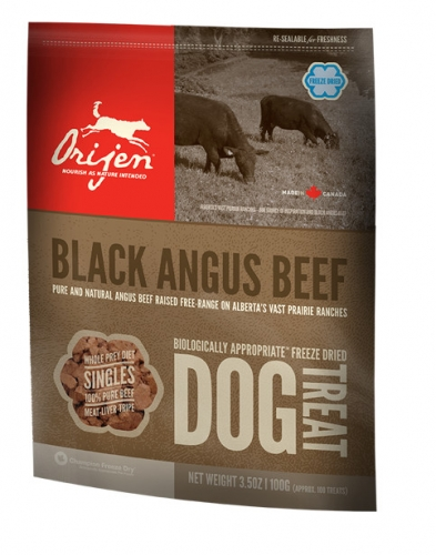 ORIJEN Black Angus Beef Dog Treats
