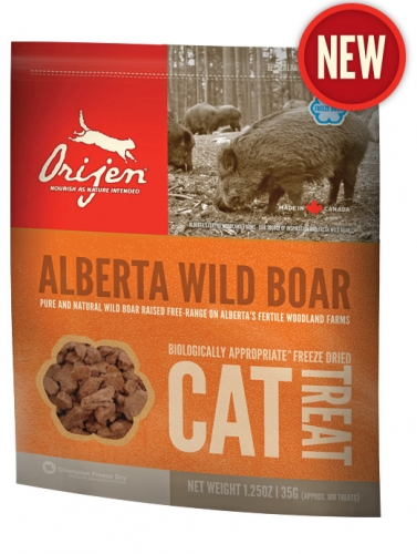ORIJEN Wild Boar Cat Treats