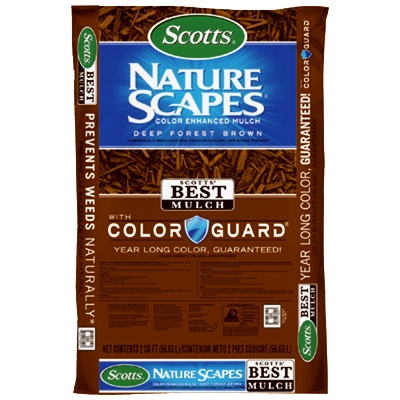 NatureScapes Mulch - Deep Forest Brown