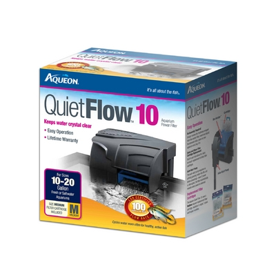 Aqueon QuietFlow™ 10 Power Filter