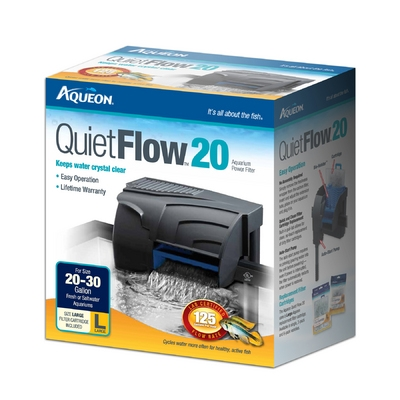 Aqueon QuietFlow™ 20 Power Filter