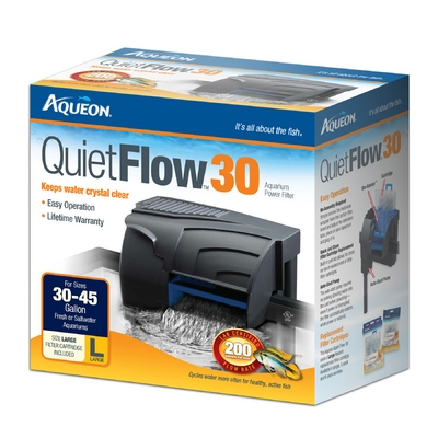 Aqueon QuietFlow™ 30 Power Filter