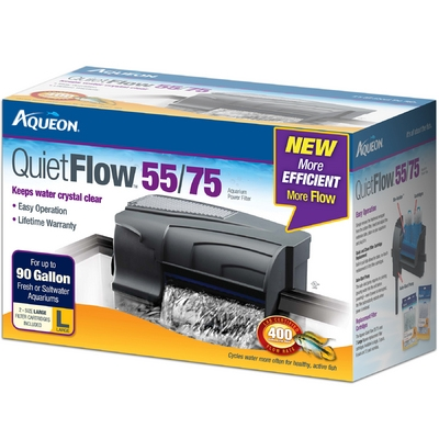 Aqueon QuietFlow™ 55/75 Power Filter