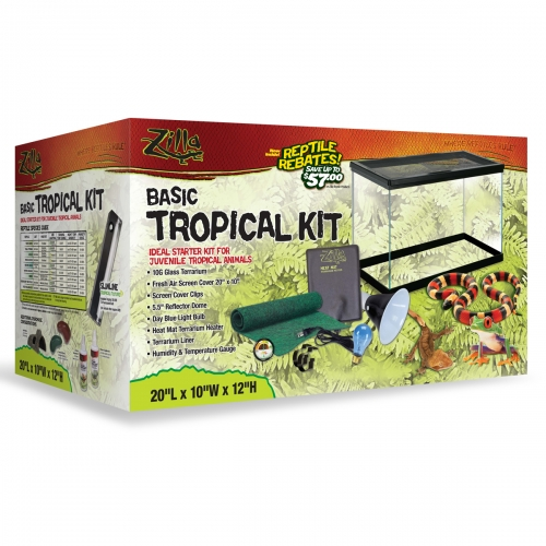 Zilla Basic Tropical Kit 22.5