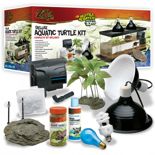 Zilla Deluxe Aquatic Turtle Kit 32