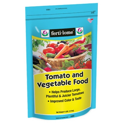 4 lb. Tomato and Vegetable Food, 7-22-8