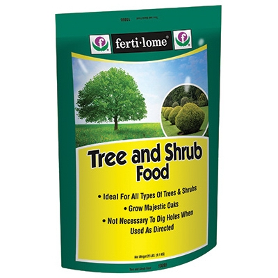 20 lb. Tree & Shrub Food, 19-8-10