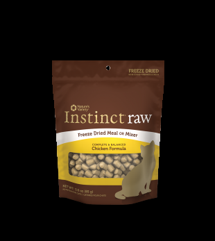 Nature's Variety Instinct - Freeze Dried RAW MEAL CHICKEN CAT 3OZ