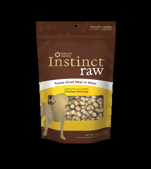 Nature's Variety Instinct - Freeze Dried RAW MEAL CHICKEN DOG 14OZ