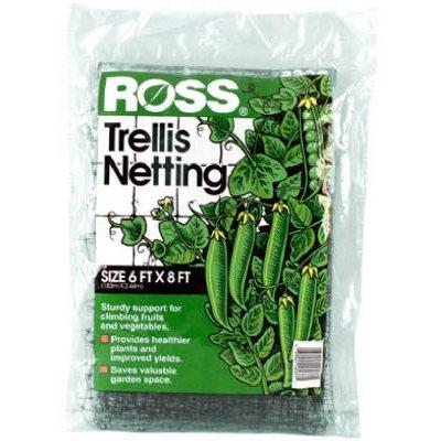 Ross Trellis Netting for Fruits & Vegetables, 6 x 18 Ft.