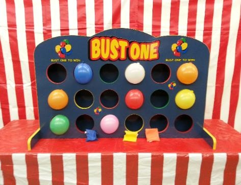 Bust One (Dartless balloon pop game)