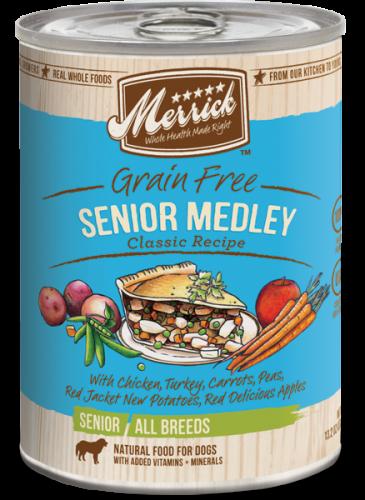 Merrick Senior Medley Can Dog 12/13.2 oz.