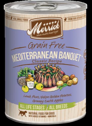 Merrick Mediterranean Lamb Can Dog 13.2 oz.