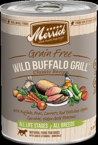 Merrick Wild Buffalo Grill Can Dog 13.2 oz.