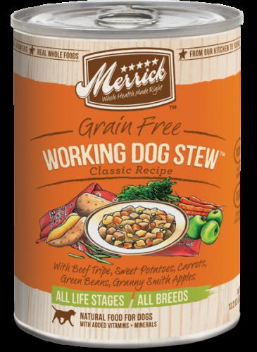 Merrick Working Dog Stew Can Dog 13.2 oz.