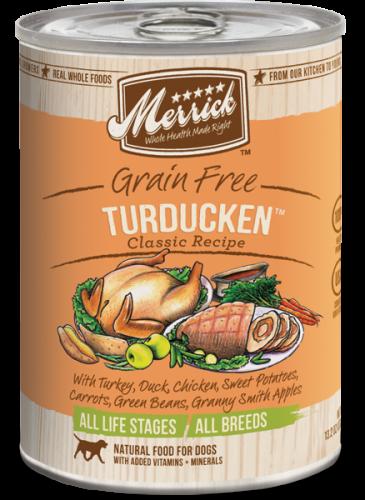 Merrick Turducken Can Dog 13.2 oz.