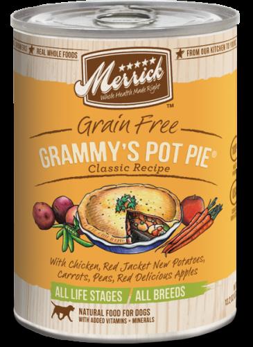Merrick Grammy's Pot Pie Can Dog 13.2 oz.