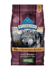 Blue Buffalo Wilderness Rocky Mountain Recipe Adult Bison Dog 22#