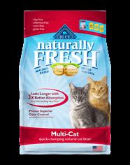 Naturally Fresh MultiCat Clumping Litter 26#