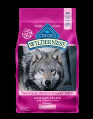 Blue Buffalo Wilderness Small Breed Chicken Dog 4.5#