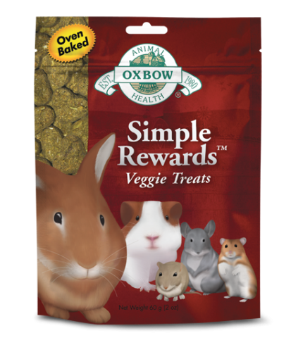 Oxbow Simple Rewards Veggie Treat 2.0 oz