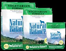 Natural Balance Vegetarian Formula Dry Dog Food 28Lb