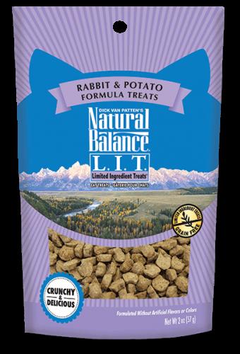 L.I.T. Limited Ingredient Treats® Rabbit & Potato Formula Cat Treat 2Z C=12